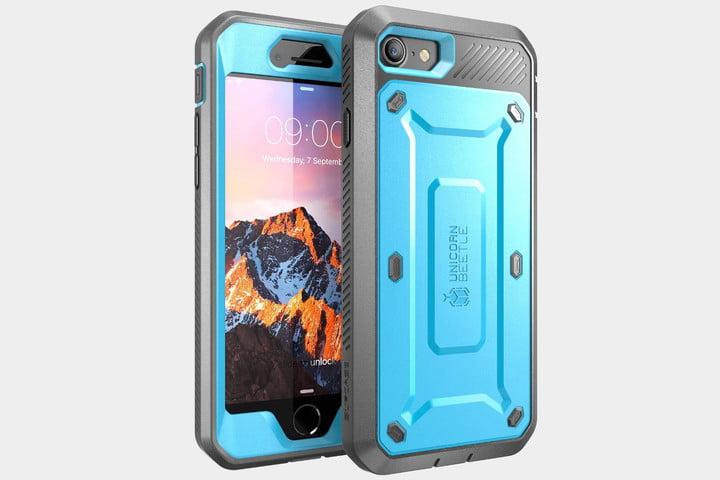 unicorn beetle iphone 7 kék tok